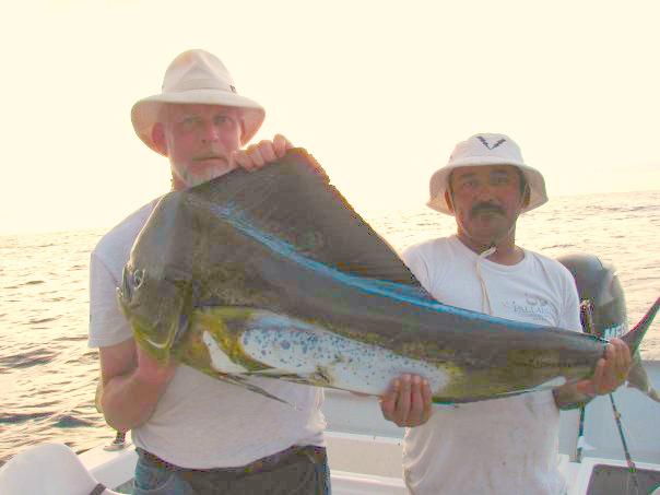 Jim Lovins with his Beautiful Dorado
