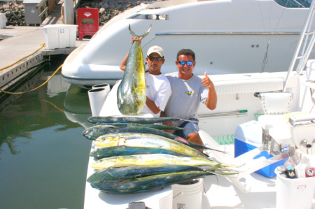 Dorado Fishing at its Best